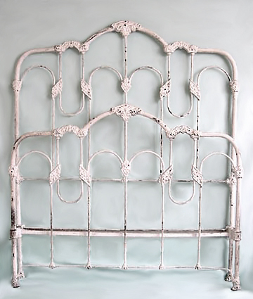 antique iron bed frames Original Antique Iron Bed Details antique iron bed frames